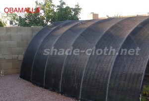 tunnel providing protection to crops